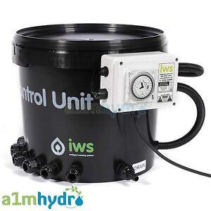 IWS Flood And Drain Basic Brain And Timer Pot 6 12 24 36 48 System Hydroponics