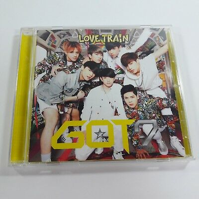 GOT7 2nd Single Album LOVE TRAIN Only CD Regular version Japan Used Opened