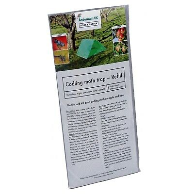 Codling Moth Pheromone Trap Refill For Apple and Pear - Andermatt Home & Garden
