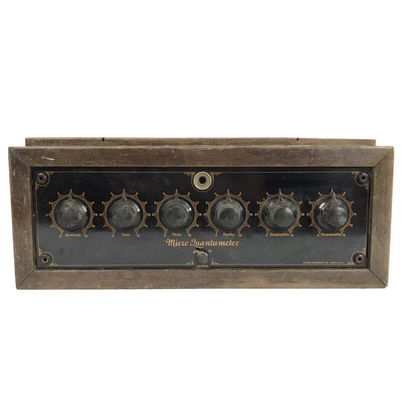 Antique Calbro Magnowave Micro Quantumeter Quack Medical Device Electrotherapy