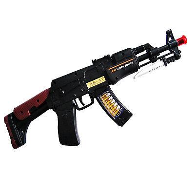 ug Gewehr Kalaschnikow AK-47 Maschinengewehr Licht+Sound (Spielzeug Ak47)