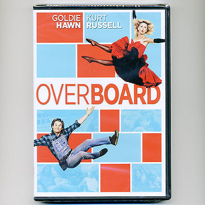Overboard 1987 Romantic Comedy Pg Movie  New Dvd Goldie Hawn  Kurt Russell Yacht