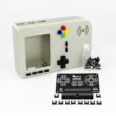 PiGRRL 2 Case/Buttons GAMEPAD PCB/SOFT-TACT/BOX HEADER for