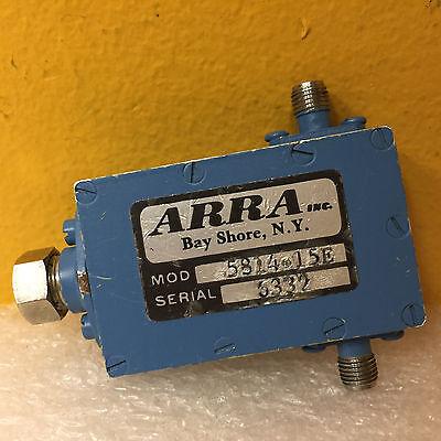 Arra 5814-15e 4.8 To 5.9 Ghz 15 Db 0.5 Db Sma F Coax Variable Attenuator