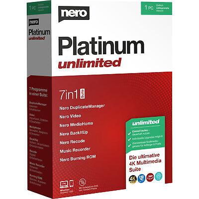 Nero AG Platinum Unlimited