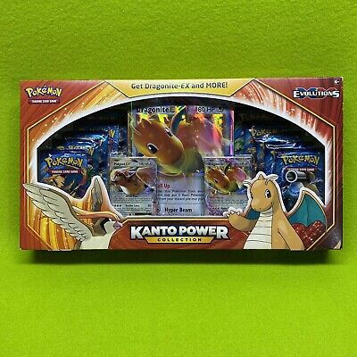Evolutions Pokemon TCG Kanto Power Collection New in Sealed Box DRAGONITE