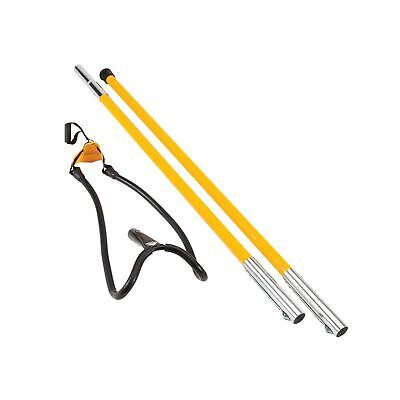 Notch Big Shot Throw Line Launcher Standard Kit Black Yellow Comfortable Tool