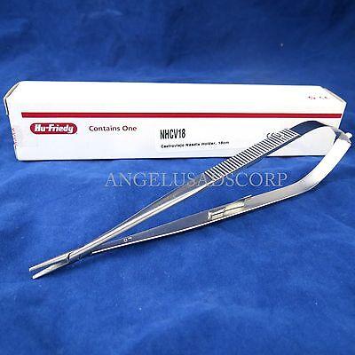 Castroviejo Needle Holder Straight 7 18 Cms Nhcv18 Hu Friedy