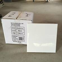 White tiles 200 by 200 mm, square, new, 175 tiles. Leslie Vale Kingborough Area Preview