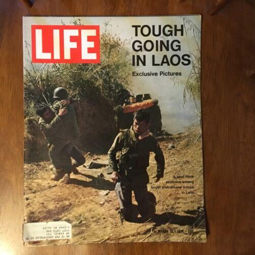 LIFE Magazine~March 12 1971~War in Laos~New Coach U.S. Ski Team~Israel~Ads (7)