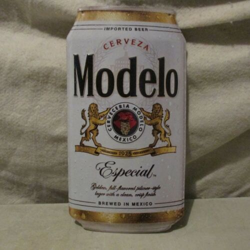Modelo Beer Can Tin Sign