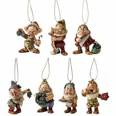 Disney Traditions Seven Dwarves Christmas Tree Hanging Ornaments Snow White Xmas ()