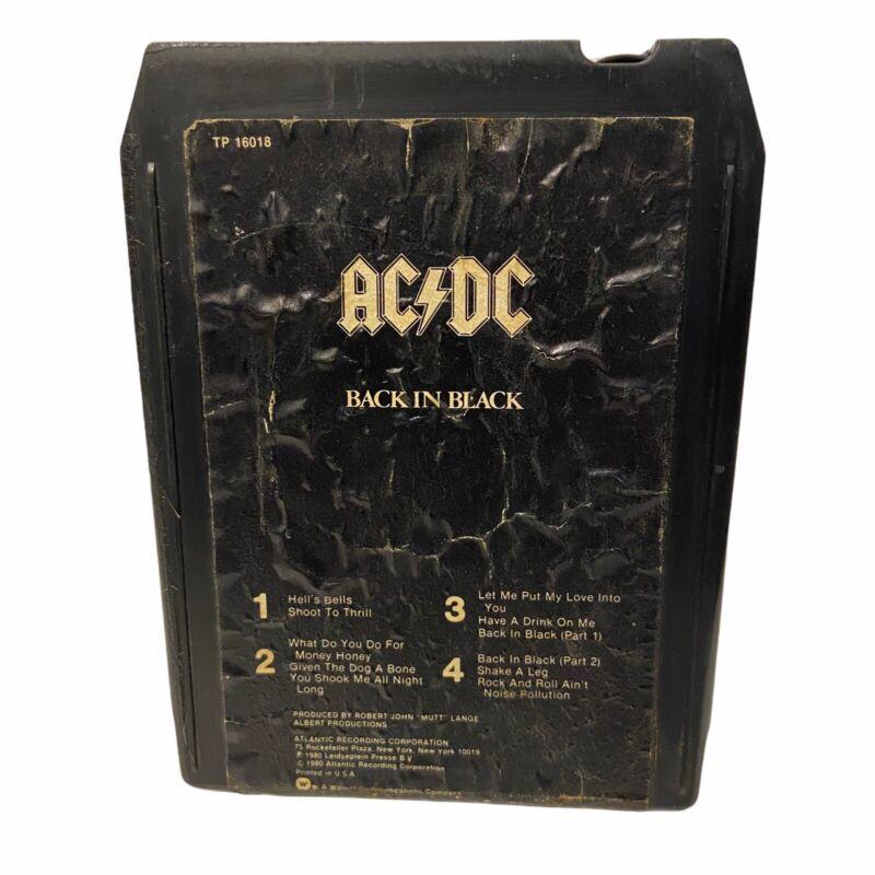 AC/DC Back in Black 8 Track Tested & Works