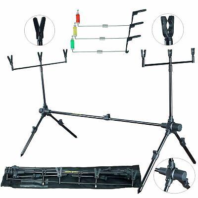 Zeck Fishing Angeln Rod Bag Pro Predator 135cm Rutenfutteral f/ür Spinnruten