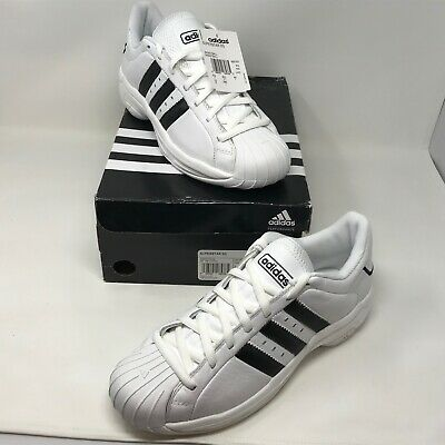 Adidas Superstar 2G Mens Size 10 NIB w/ Tags White/Back Basketball Shoes RARE Adidas Superstar 2 Shoes