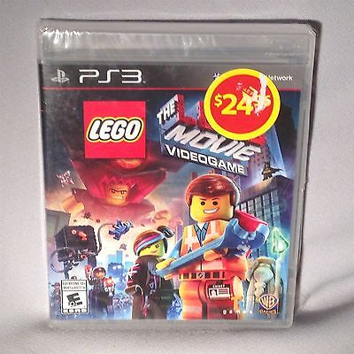 GAME PLAYSTATION 3 PS3 The Lego Movie Videogame 2014 NEW MINT SEALED