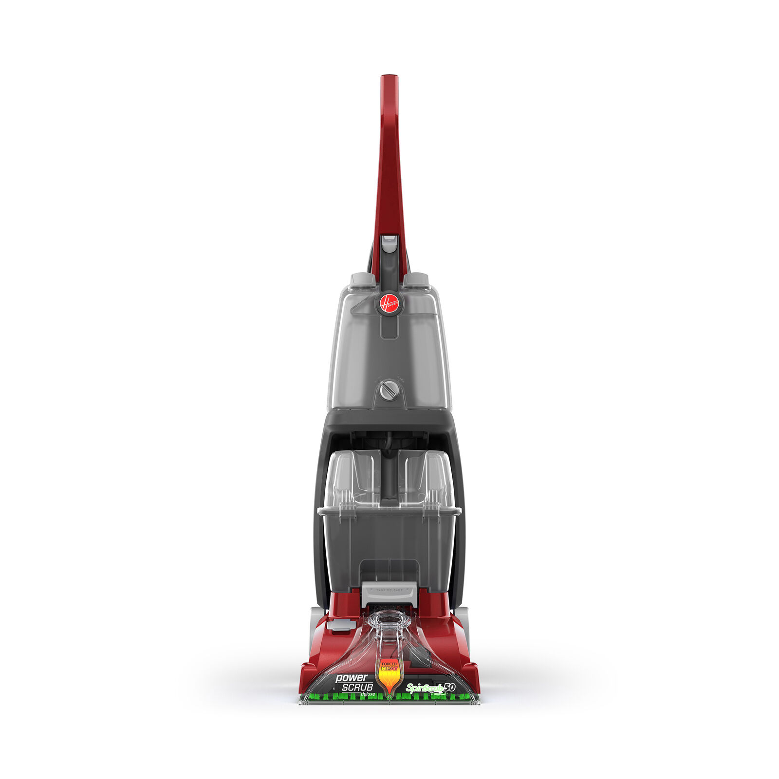Hoover Power Scrub Multi Floor Upright Cleaner and Deluxe Ca