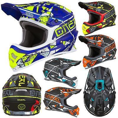 O'Neal 3Series Zen Motocross Motorrad MX Helm Bike FMX Enduro Cross Offroad
