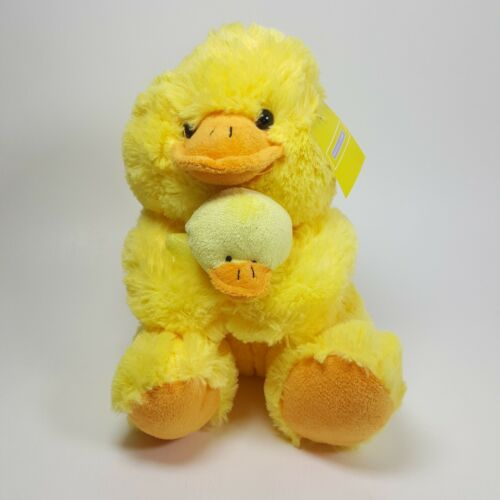 Holiday Home Yellow Ducks Pair Plush Toy Easter