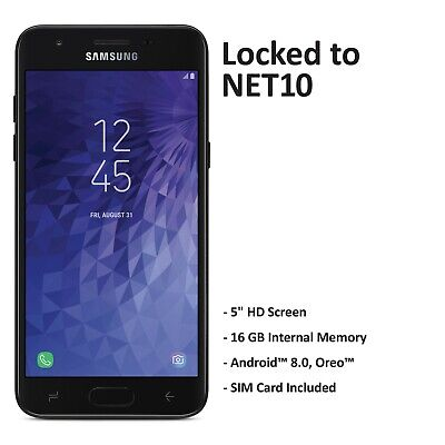 Net10 Samsung Galaxy J3 Orbit 4G LTE Prepaid Cell Phone (Refurbished) Net 10 Phones