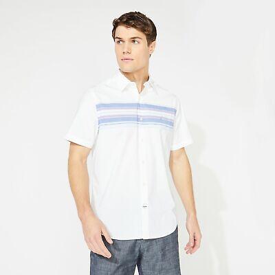 Nautica Mens Classic Fit Striped Shirt
