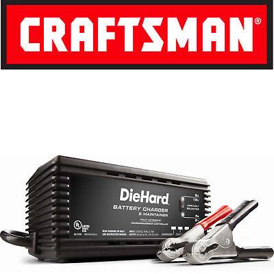 Diehard Smart Battery Charger   Maintainer 6V 12V Volt 2 4 Amp Car Truck Trickle