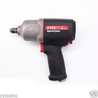 "Ingersoll Rand 2135Ti Pneumatic Impact Wrench, Titanium, 1/2"" Drive"