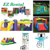 EZ Rentals - Bouncy castle, Snow Cone and Cotton Candy Machine