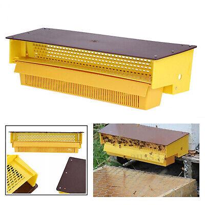 Plastic Bee Pollen Trap Removable Pollen Tray Collector 391410cm Durable