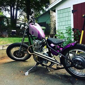 Trade xs650 bobber for dirtbike