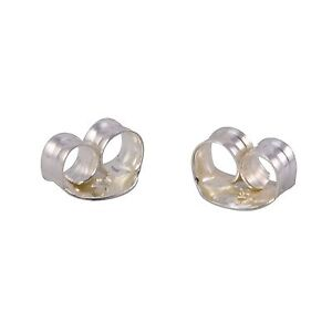 friction back earrings 925 sterling silver replacement earring backs clutches 249