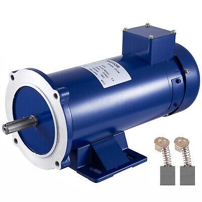 Dc Motor 1 Hp 56c Frame 24v 1750rpm Tefc Permanent Magnet