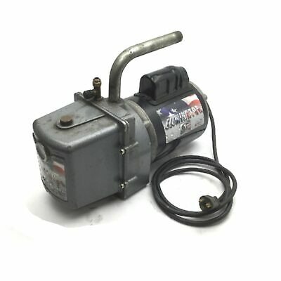 Jb Industries Dv-4e Eliminator 2-stage Vacuum Pump 4-cfm 25 Micron 12hp 120vac