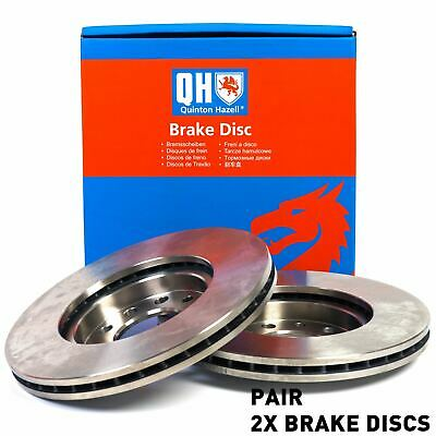 QH BDC5498 Front Axle Internally Vented Pair of Brake Disc