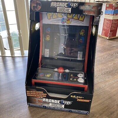 Arcade1Up Pacman Personal Arcade Game Machine PAC-MAN Countercade - New OPEN BOX