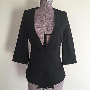 Morrison kimono style black coat, size small (designer) East Victoria Park Victoria Park Area Preview