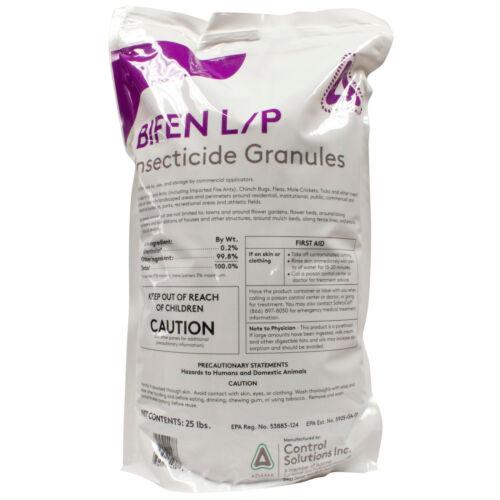 Bifen LP Granules (25 Lb) Bifenthrin Insect Killer Yard Granules Flea Treatment