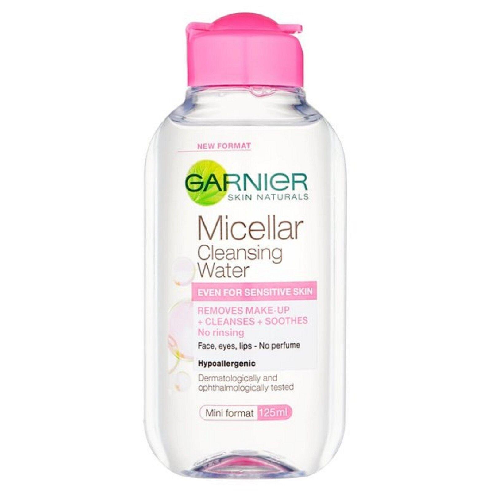 Garnier Skin Active Micellar Cleansing Water 125ml Makeup Re