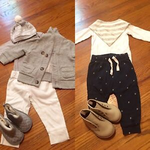 Boys 6-12 months clothing - excellent condition!