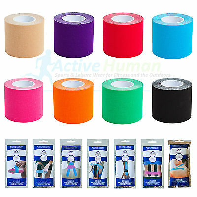 More Mile Kinesiology Tape Sport Physio Muscle Strain Injury Support KT Ares