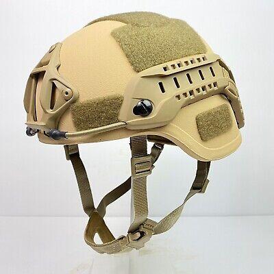 Small US Military Ballistic Advanced Combat Helmet ACH MICH Coyote & Tan IIIA