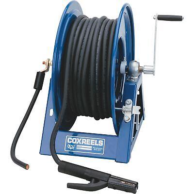 Coxreels Hand-crank Welding Cable Reel - 300ft. Cap 2-ga. Cable 1125wcl-6-c