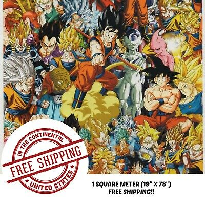 Hydrographic Film Water Transfer Hydro Dipping Dip Film 19 X 78 Anime Bomb 4