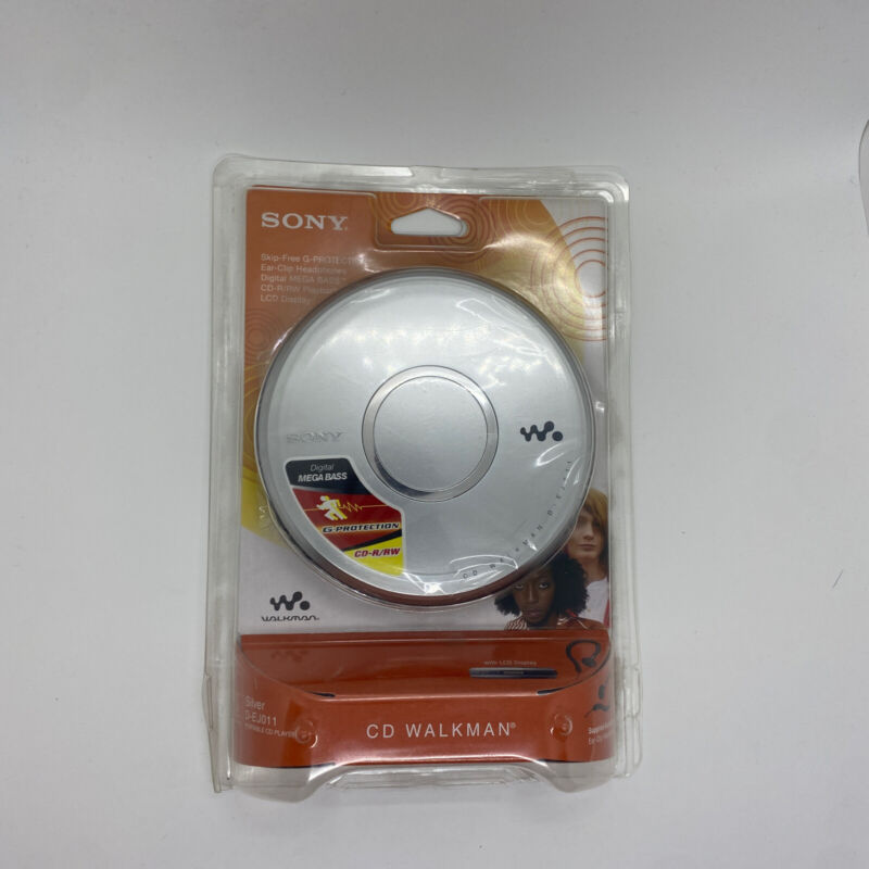 Sony Walkman Portable CD Player Mega Bass G-Protection D-EJ011 READ