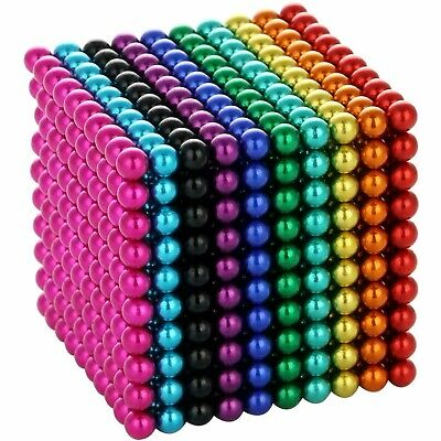 5mm Neo Balls - 1000 Tiny Magnets - Magnetic Art - Ships From United States