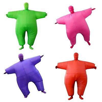 Aufblasbar Fat Chub Anzug Kostüm Junggesellenabschied (Jungen Aufblasbare Kostüm)