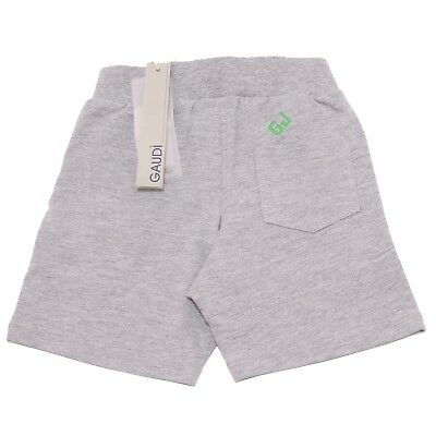 GAUDI 4929AB Bermuda Tuta Bimbo Boy Black Sweatpant Shorts Kid