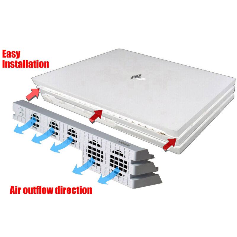 Dobe PS4 Pro USB External 5 Fan Cooling System - White