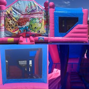 Shopkins 5x4 combo jumping castle, only $180 for the day.. Cranebrook Penrith Area Preview