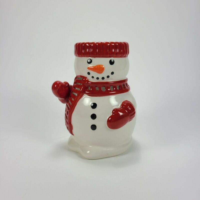 Harry Slatkin Snowman Oil Warmer